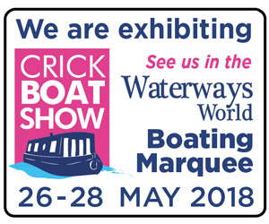 Lock Windlass GOWindlass.co.uk are Exhibiting their canal boat windlass at Crick Boat Show 2018