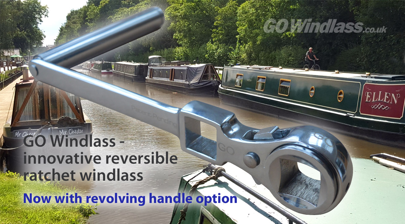 The GOWindlass innovative ratchet windlass